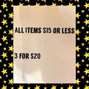 Dresses & Skirts - 🌹3 for $20 - All Items $15 or less Now 3 for $20